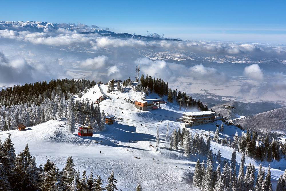 Partii de schi in Busteni