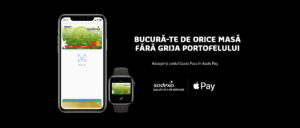 Sodexo aduce aplicația Apple Pay pentru utilizatorii de dispozitive Apple