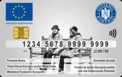 Cardul Social pentru mese calde: Social Pass Card Sodexo