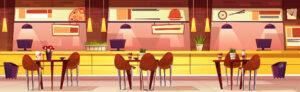 Amenajarea restaurantului – de cat spatiu are nevoie un client