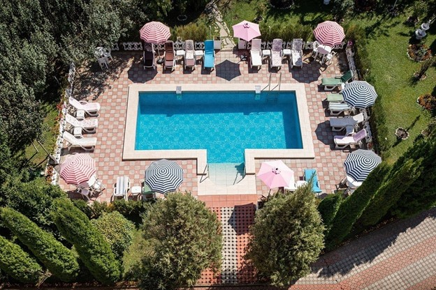 Turist Pass Sodexo Grand Hotel Brasov piscina